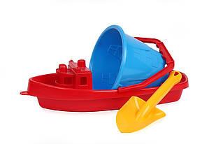 Песочный набор Кораблик-2 Технок Красный (37104)