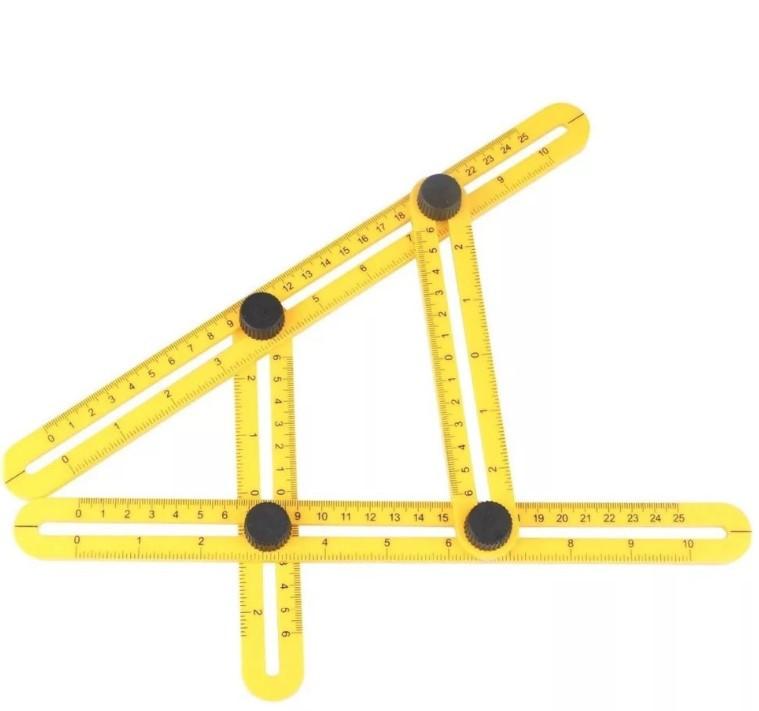 Профессиональный многоугольная углоизмерительный транспортир