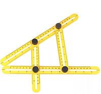 Профессиональный многоугольная углоизмерительный транспортир, фото 1