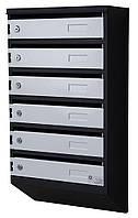 Ящик почтовый многосекционный ЯП-06М