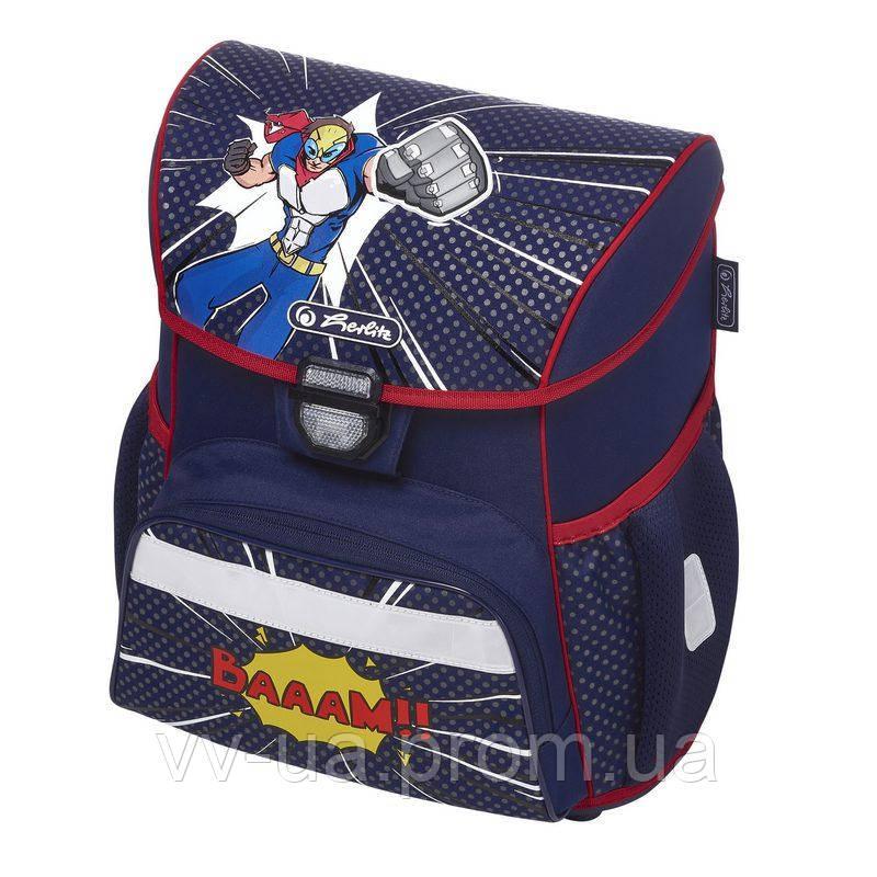 Ранец школьный Herlitz LOOP Super Hero Супергерой 50020676
