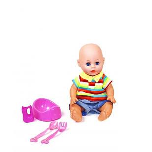 "Пупс функциональный ""Anne baby"" JF1701C/D 23 см (28516)"