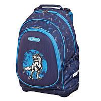 Рюкзак школьный Herlitz BLISS Dino Blue Динозавр 50014019