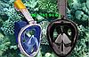 Маска для подводного плавания FREE BREATH, снорклинга, дайвинга, полнолицевая. Все размеры., фото 5