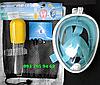 Маска для подводного плавания FREE BREATH, снорклинга, дайвинга, полнолицевая. Все размеры., фото 2
