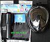 Маска для подводного плавания FREE BREATH, снорклинга, дайвинга, полнолицевая. Все размеры., фото 4