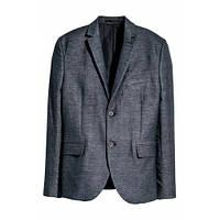 Пиджак синий H&M SLIM FIT 44