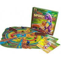 Дитяча настільна гра «Діно спорт» Dino Sport - веселі перегони динозаврів, фото 1