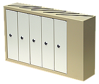 Ящик почтовый многосекционный ЯП-05А