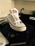 Женские кеды Converse All Star Женские конверс - original (конверсы низкие). Топ Реплика, фото 7