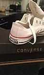 Женские кеды Converse All Star Женские конверс - original (конверсы низкие). Топ Реплика, фото 8