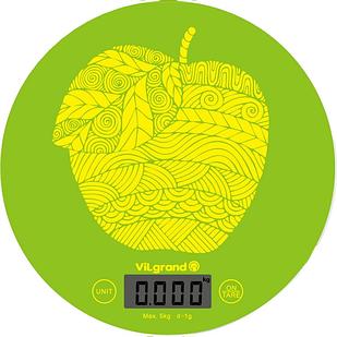 Весы кухонные электронные ViLgrand VKS-519 Apple (44658)