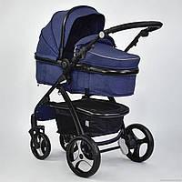 Детская коляска трансформер JOY 8683 Синий (GBK-016)