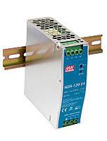 Блок живлення Mean Well NDR-120-12 На DIN-рейку 120 Вт, 12 В, 10 А (AC/DC Перетворювач)
