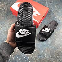 Мужские тапки Nike All Black