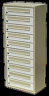 Ящик почтовый многосекционный ЯП-10К