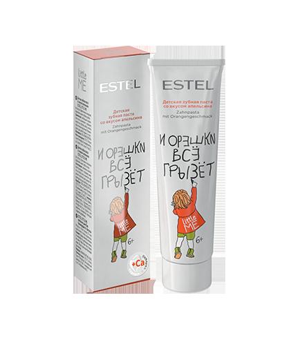 Дитяча зубна паста-гель зі смаком апельсина Estel Professional Little Me Toothpaste 50 мл