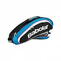 Чехол Babolat Racket Holder X 3 Team Line Blue 2012 (751056/136)