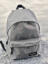 Рюкзак в стиле Eastpak светло-серый, фото 2