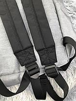 Рюкзак в стиле Eastpak светло-серый, фото 3