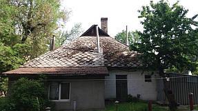Полный демонтаж старой крыши и монтаж новой на пр. Петровского 2
