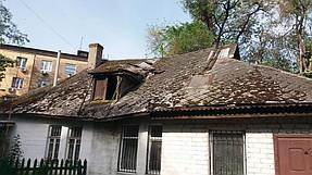 Полный демонтаж старой крыши и монтаж новой на пр. Петровского 4
