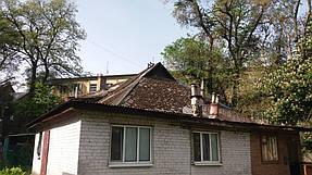 Полный демонтаж старой крыши и монтаж новой на пр. Петровского 5