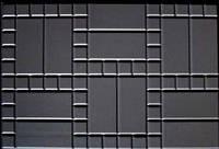 Форма для изготовления плитки Блок дорожный №3  750х50х8