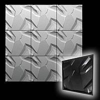"""Форма для 3D панелей """"Невада"""" 500*500 мм, фото 1"""