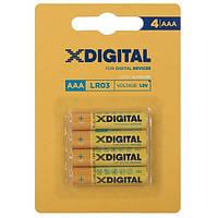 Батарейка X-DIGITAL LR 03 1x4 шт.