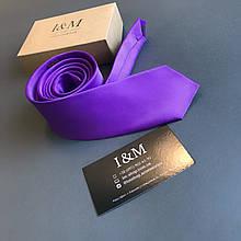 Галстук I&M Craft фиолетовый (020319)