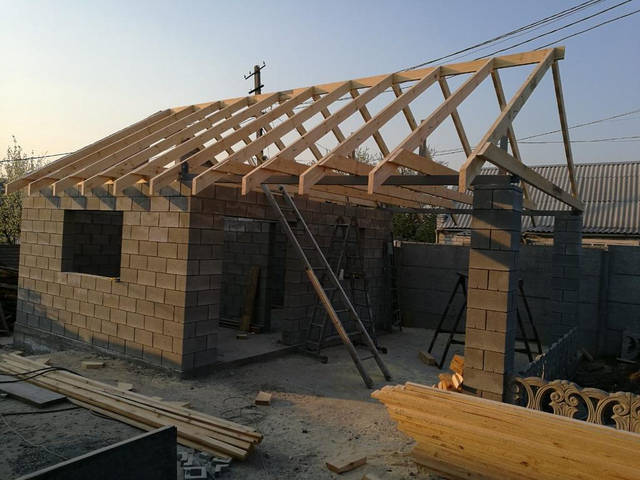 Крыша над мастерской  -1
