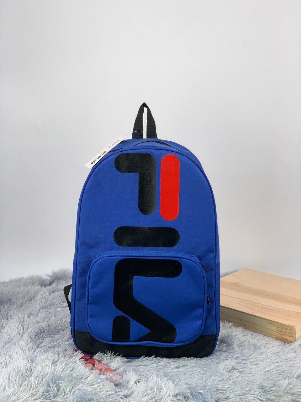 Рюкзак в стиле FILA темно-синий