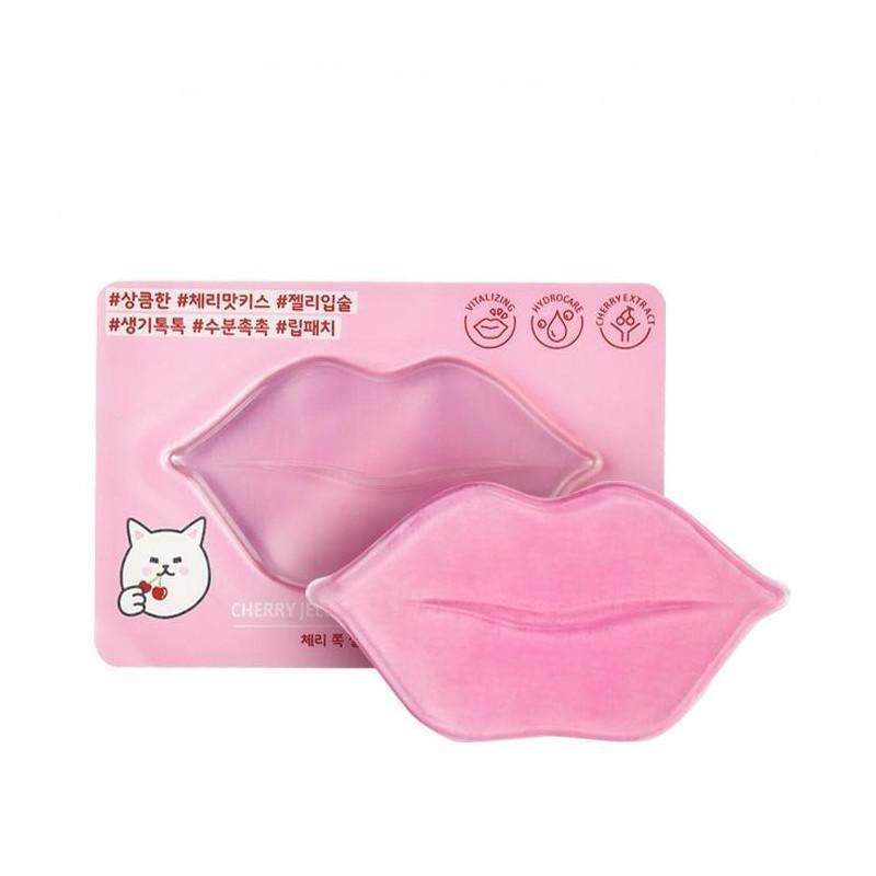 Гелевая маска для губ Etude House Cherry Jelly Lips Patch
