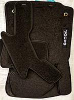 Ворсовые коврики Skoda Fabia III 2014-