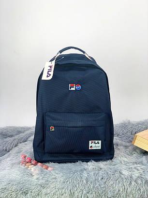 Рюкзак в стиле FILA темно-синий, фото 2