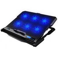 Подставка для ноутбука OMEGA Laptop Cooler pad COOLWAVE 6X fan black (OMNCP6F)
