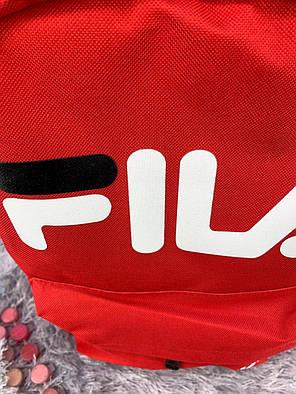 Рюкзак в стиле FILA красный, фото 2