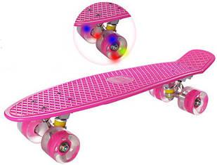 Скейт Profi Penny Board 0848-2 Pink (10_0848-2P)
