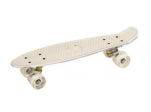 Скейт Profi Penny Board 0848-2 White (10_0848-2W)