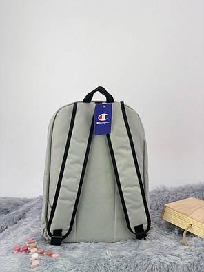 Рюкзак в стиле Champion серый, фото 2
