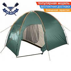 Кемпинговая палатка Totem Apache трехместная однокомнатная, 2 входа