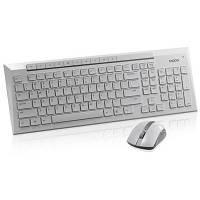 Комплект Rapoo 8200p wireless, White
