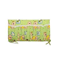Защита для кроватки Vivast 4 предмета Bambi Зеленый (М V-612-04-1 )