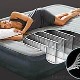 ✅Надувная кровать Intex 67768, 137 x 191 x 33 , встроенный электронасос. Полутороспальная, фото 3