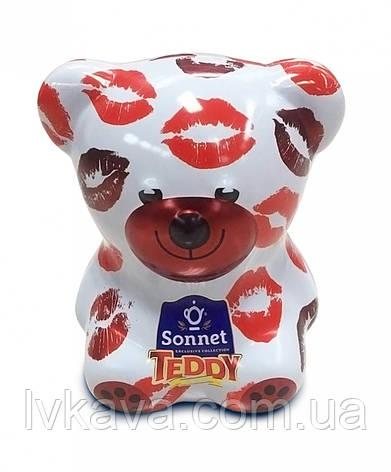 Чай черный Sonnet Teddy поцелуи ,ж\б, 25 пак х 2 гр, фото 2
