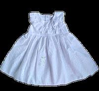 Нарядное батистовое платье (74, 80, 86 см), фото 1