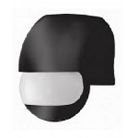 Датчик движения «Куб модерн» черный, 180°, расстояние макс. 12м, IP44, макс. нагрузка 1200Вт