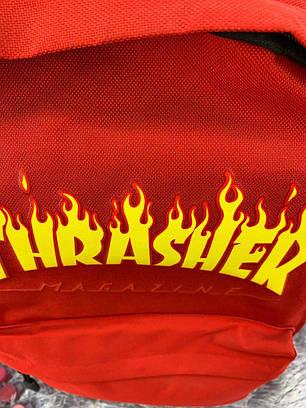 Рюкзак в стиле Thrasher красный, фото 2