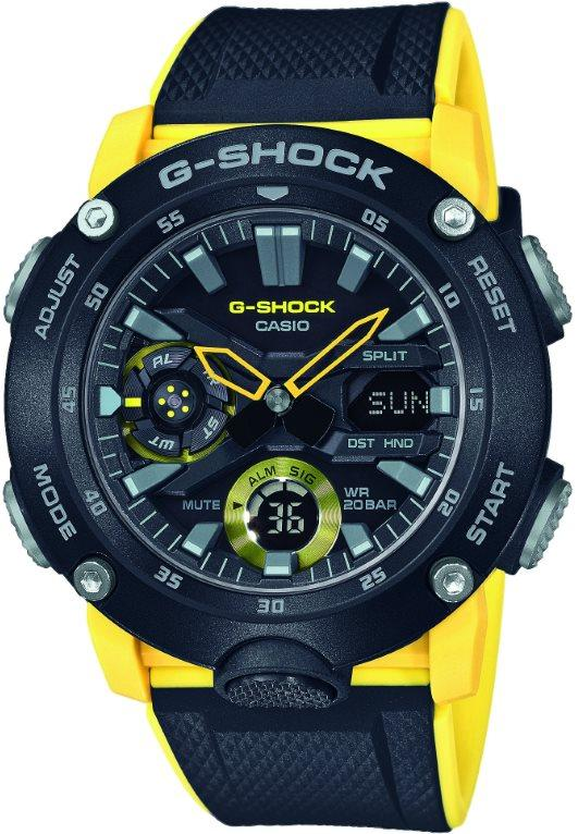 Годинник CASIO G-SHOCK GA-2000-1A9ER